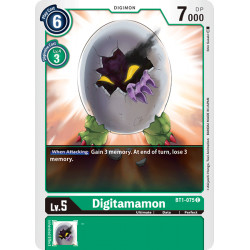 BT1-075 C Digitamamon Digimon
