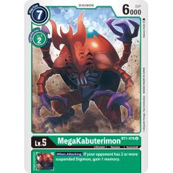 BT1-076 U MegaKabuterimon Digimon