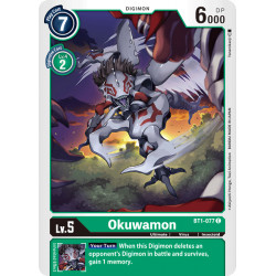 BT1-077 C Okuwamon Digimon