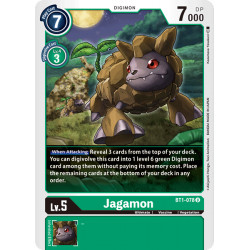 BT1-078 U Jagamon Digimon