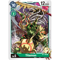BT1-080 U Titamon Digimon