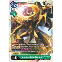 BT1-081 SR HerculesKabuterimon Digimon