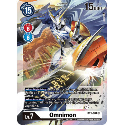 BT1-084 SR Omnimon Digimon