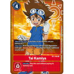 BT1-085 R Tai Kamiya Tamer Alternative Art