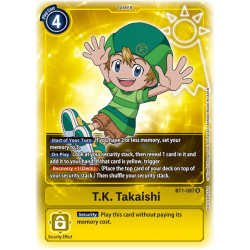 BT1-087 R T.K. Takaishi Tamer Alternative Art