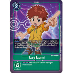 BT1-088 R Izzy Izumi Tamer Alternative Art