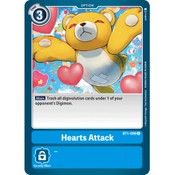 BT1-099 C Hearts Attack Option