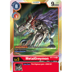 BT1-114 SEC MetalGreymon Digimon