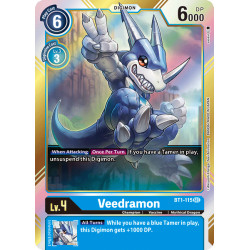 BT1-115 SEC Veedramon Digimon