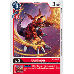 BT2-009 C Guilmon Digimon
