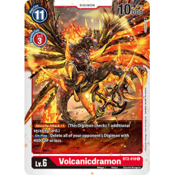 BT2-018 C Volcanicdramon Digimon