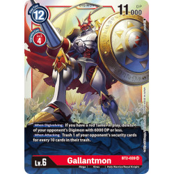 BT2-020 SR Gallantmon Digimon
