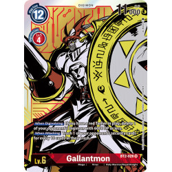 BT2-020 SR Gallantmon Digimon Alternative Art