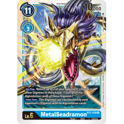 BT2-030 R MetalSeadramon Digimon