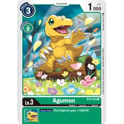 BT2-043 C Agumon Digimon