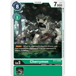 BT2-048 U Cherrymon Digimon