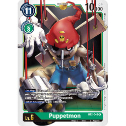 BT2-049 R Puppetmon Digimon