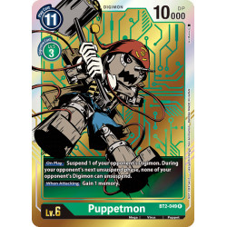 BT2-049 R Puppetmon Digimon Alternative Art