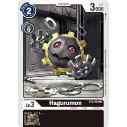 BT2-052 C Hagurumon Digimon