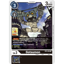 BT2-054 U Gotsumon Digimon