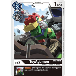 BT2-055 C ToyAgumon Digimon