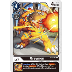 BT2-057 C Greymon Digimon