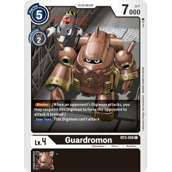BT2-058 C Guardromon Digimon