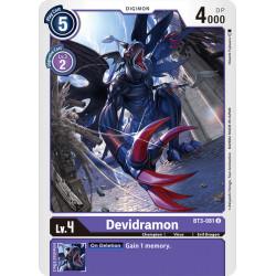 BT3-081 U Devidramon Digimon