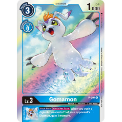 P-004 P Gomamon Digimon
