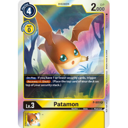P-005 P Patamon Digimon