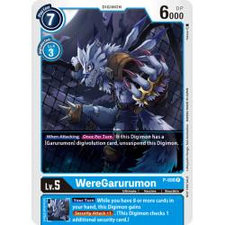 P-008 P WereGarurumon Digimon
