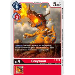 P-010 P Greymon Digimon
