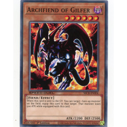 YGO SBCB-EN004 C Archdémon de Gilfer  / Archfiend of Gilfer