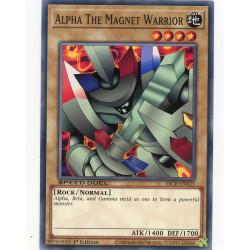 YGO SBCB-EN023 C Alpha, le Guerrier Magnétique  / Alpha The Magnet Warrior