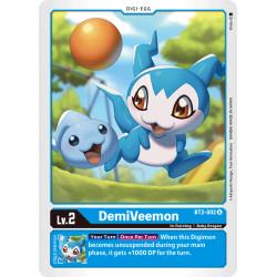 BT2-002 U DemiVeemon Digi-Egg
