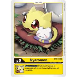 BT2-003 U Nyaromon Digi-Egg