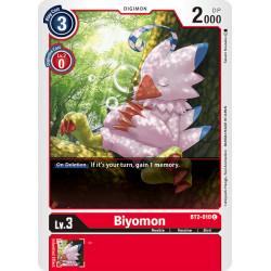BT2-010 C Biyomon Digimon