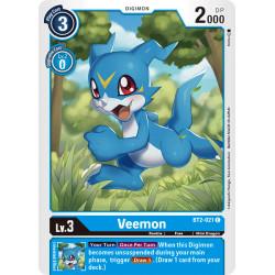 BT2-021 C Veemon Digimon