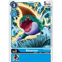 BT2-022 C Betamon Digimon