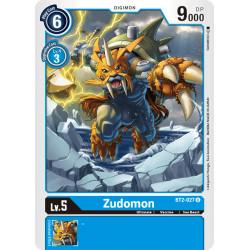 BT2-027 U Zudomon Digimon