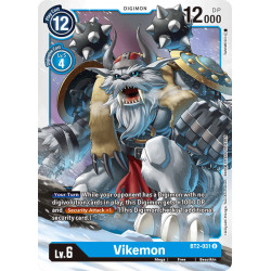 BT2-031 U Vikemon Digimon