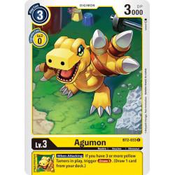 BT2-033 C Agumon Digimon