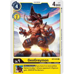 BT2-035 C GeoGreymon Digimon