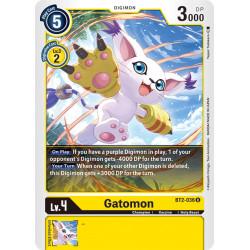 BT2-036 U Gatomon Digimon
