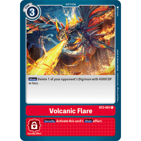 BT2-091 C Volcanic Flare Option