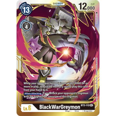 BT2-112 SEC BlackWarGreymon Digimon