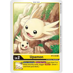 BT3-003 U Upamon Digi-Egg