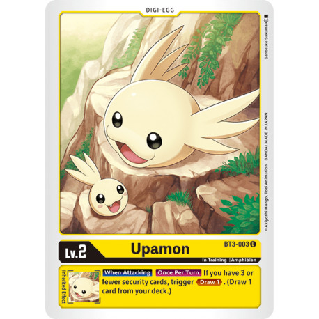 BT3-003 U Upamon Digi-Egg