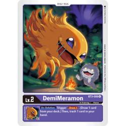 BT3-006 U DemiMeramon Digi-Egg