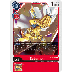 BT3-008 U Zubamon Digimon